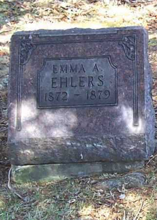 EHLERS, EMMA A. - Tuscarawas County, Ohio | EMMA A. EHLERS - Ohio Gravestone Photos