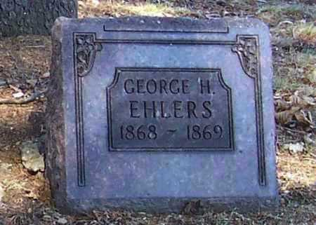 EHLERS, GEORGE H. - Tuscarawas County, Ohio | GEORGE H. EHLERS - Ohio Gravestone Photos