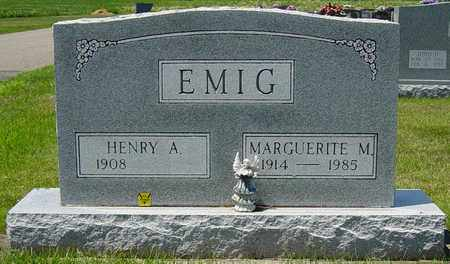 EMIG, MARGUERITE M. - Tuscarawas County, Ohio | MARGUERITE M. EMIG - Ohio Gravestone Photos