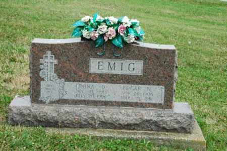EMIG, EDGAR N. - Tuscarawas County, Ohio | EDGAR N. EMIG - Ohio Gravestone Photos