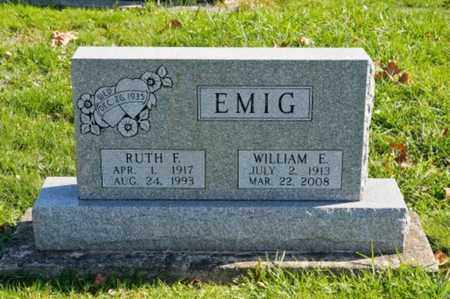 EMIG, WILLIAM E. - Tuscarawas County, Ohio | WILLIAM E. EMIG - Ohio Gravestone Photos