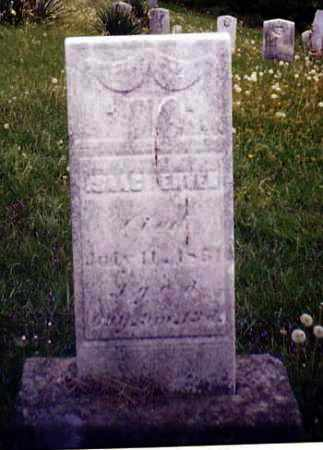 ERVEN, ISAAC - Tuscarawas County, Ohio | ISAAC ERVEN - Ohio Gravestone Photos
