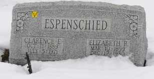ESPENSCHIED, ELIZABETH R. - Tuscarawas County, Ohio | ELIZABETH R. ESPENSCHIED - Ohio Gravestone Photos