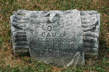 ESPENSCHIED, FLOSSIE - Tuscarawas County, Ohio | FLOSSIE ESPENSCHIED - Ohio Gravestone Photos