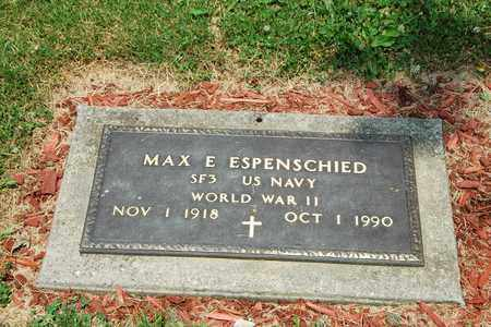 ESPENSCHIED, MAX E. - Tuscarawas County, Ohio | MAX E. ESPENSCHIED - Ohio Gravestone Photos
