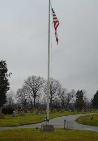 EVERGREEN BURIAL PARK, ENTRANCE - Tuscarawas County, Ohio | ENTRANCE EVERGREEN BURIAL PARK - Ohio Gravestone Photos