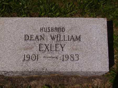 EXLEY, DEAN WILLIAM - Tuscarawas County, Ohio | DEAN WILLIAM EXLEY - Ohio Gravestone Photos