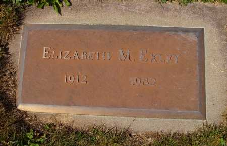EXLEY, ELIZABETH M. - Tuscarawas County, Ohio | ELIZABETH M. EXLEY - Ohio Gravestone Photos