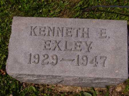 EXLEY, KENNETH EUGENE - Tuscarawas County, Ohio | KENNETH EUGENE EXLEY - Ohio Gravestone Photos