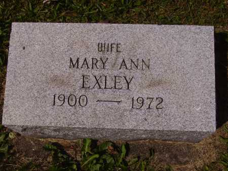 LINARD EXLEY, MARY ANN - Tuscarawas County, Ohio | MARY ANN LINARD EXLEY - Ohio Gravestone Photos