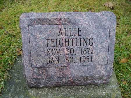 FEIGHTLING, ALLIE - Tuscarawas County, Ohio | ALLIE FEIGHTLING - Ohio Gravestone Photos