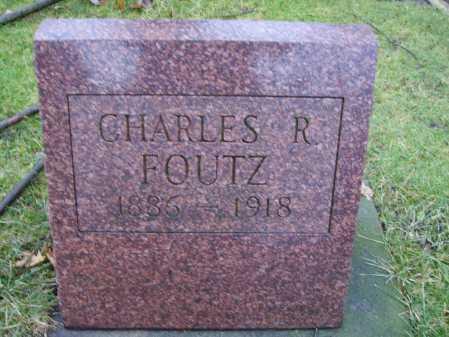 FOUTZ, CHARLES R. - Tuscarawas County, Ohio | CHARLES R. FOUTZ - Ohio Gravestone Photos
