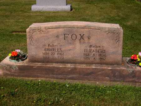 FOX, ELIZABETH - Tuscarawas County, Ohio | ELIZABETH FOX - Ohio Gravestone Photos