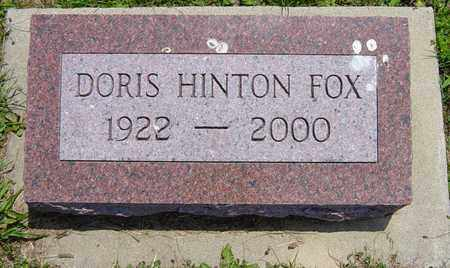 MOOMAW FOX, DORIS - Tuscarawas County, Ohio | DORIS MOOMAW FOX - Ohio Gravestone Photos