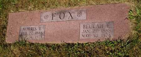 KINSEY FOX, BEULAH E. - Tuscarawas County, Ohio | BEULAH E. KINSEY FOX - Ohio Gravestone Photos