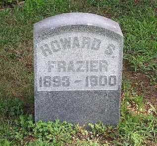 FRAZIER, HOWARD S. - Tuscarawas County, Ohio | HOWARD S. FRAZIER - Ohio Gravestone Photos