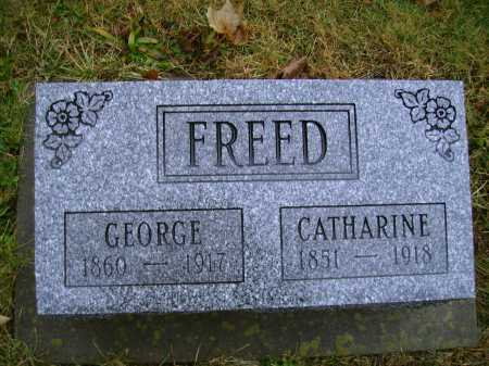 FREED, GEORGE - Tuscarawas County, Ohio | GEORGE FREED - Ohio Gravestone Photos