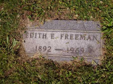 FREEMAN, EDITH - Tuscarawas County, Ohio | EDITH FREEMAN - Ohio Gravestone Photos