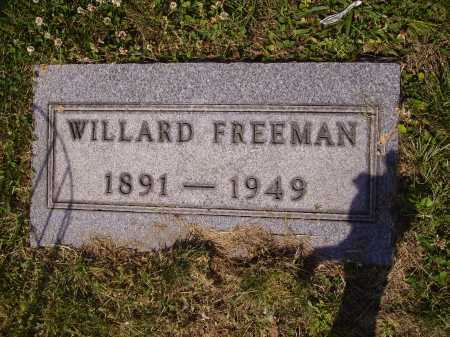 FREEMAN, WILLARD - Tuscarawas County, Ohio | WILLARD FREEMAN - Ohio Gravestone Photos