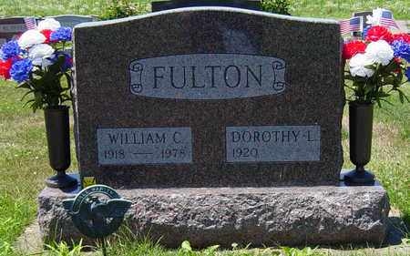 FULTON, WILLIAM C. - Tuscarawas County, Ohio | WILLIAM C. FULTON - Ohio Gravestone Photos