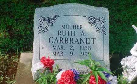 GARBRANDT, RUTH A - Tuscarawas County, Ohio | RUTH A GARBRANDT - Ohio Gravestone Photos