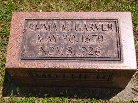 GARVER, EMMA M. - Tuscarawas County, Ohio | EMMA M. GARVER - Ohio Gravestone Photos