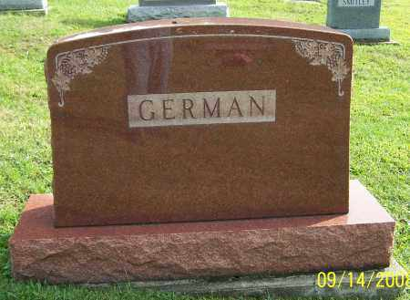 GERMAN, FAMILY - Tuscarawas County, Ohio | FAMILY GERMAN - Ohio Gravestone Photos
