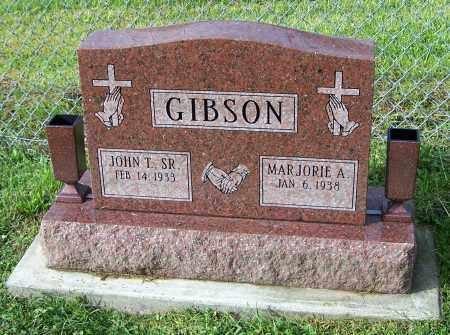 GIBSON, JOHN T.  (SR) - Tuscarawas County, Ohio | JOHN T.  (SR) GIBSON - Ohio Gravestone Photos