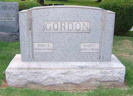 GORDON, MARY C - Tuscarawas County, Ohio | MARY C GORDON - Ohio Gravestone Photos