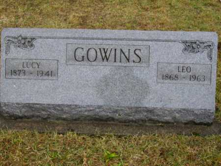 GOWINS, LUCY - Tuscarawas County, Ohio | LUCY GOWINS - Ohio Gravestone Photos