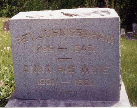 GRAHAM, ANNA - Tuscarawas County, Ohio | ANNA GRAHAM - Ohio Gravestone Photos