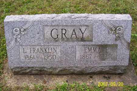 GRAY, ELMER FRANKLIN - Tuscarawas County, Ohio | ELMER FRANKLIN GRAY - Ohio Gravestone Photos