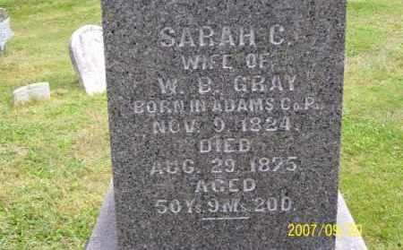SHAFFER GRAY, SARAH CATHERINE - Tuscarawas County, Ohio | SARAH CATHERINE SHAFFER GRAY - Ohio Gravestone Photos