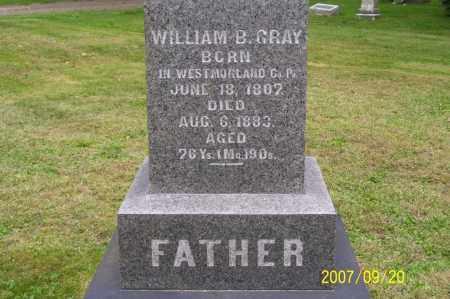 GRAY, WILLIAM BEERS - Tuscarawas County, Ohio | WILLIAM BEERS GRAY - Ohio Gravestone Photos