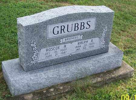 GRUBBS, ROSCOE A. - Tuscarawas County, Ohio | ROSCOE A. GRUBBS - Ohio Gravestone Photos