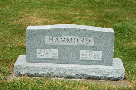 HAMMOND, ETHEL L. - Tuscarawas County, Ohio | ETHEL L. HAMMOND - Ohio Gravestone Photos