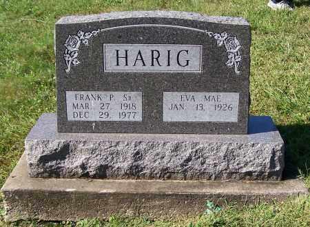 HARIG, FRANK P.  SR. - Tuscarawas County, Ohio | FRANK P.  SR. HARIG - Ohio Gravestone Photos