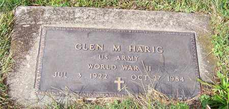 HARIG, GLEN M. - Tuscarawas County, Ohio | GLEN M. HARIG - Ohio Gravestone Photos