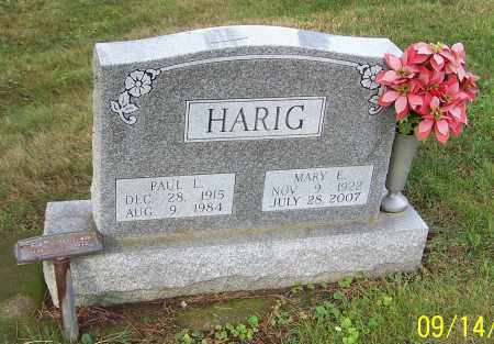 HARIG, MARY E. - Tuscarawas County, Ohio | MARY E. HARIG - Ohio Gravestone Photos