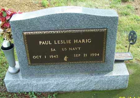 HARIG, PAUL LESLIE  (MIL) - Tuscarawas County, Ohio | PAUL LESLIE  (MIL) HARIG - Ohio Gravestone Photos