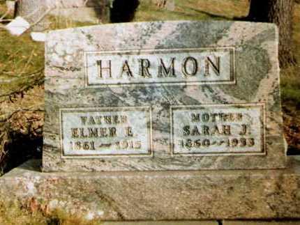 DORSEY HARMON, SARAH J. - Tuscarawas County, Ohio | SARAH J. DORSEY HARMON - Ohio Gravestone Photos