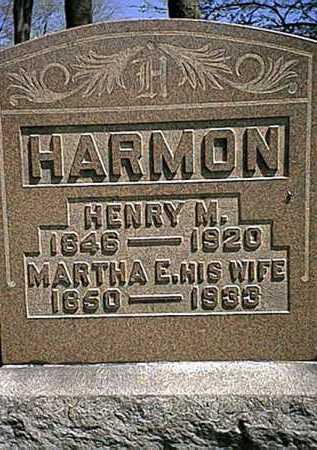 HARMON, MARTHA E. - Tuscarawas County, Ohio | MARTHA E. HARMON - Ohio Gravestone Photos