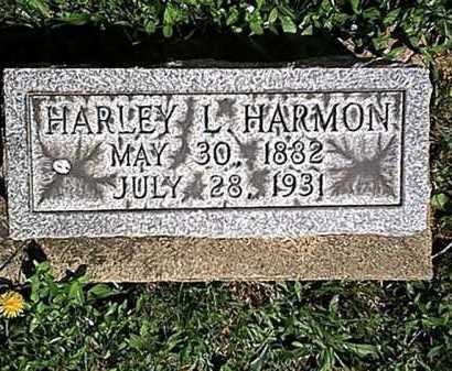 HARMON, HARLEY L. - Tuscarawas County, Ohio | HARLEY L. HARMON - Ohio Gravestone Photos