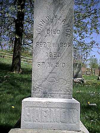 HARMON, JOHN W. - Tuscarawas County, Ohio | JOHN W. HARMON - Ohio Gravestone Photos