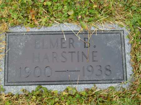 HARSTINE, ELMER B. - Tuscarawas County, Ohio | ELMER B. HARSTINE - Ohio Gravestone Photos