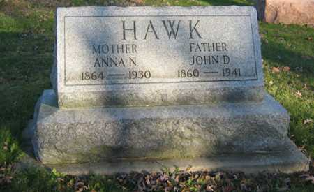 HAWK, ANNA N - Tuscarawas County, Ohio | ANNA N HAWK - Ohio Gravestone Photos