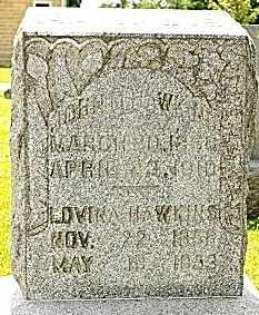 BARTHOLOMEW HAWKINS, LOVINA - Tuscarawas County, Ohio | LOVINA BARTHOLOMEW HAWKINS - Ohio Gravestone Photos