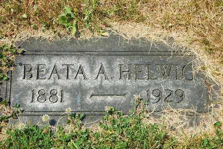 HELWIG, BEATA A. - Tuscarawas County, Ohio | BEATA A. HELWIG - Ohio Gravestone Photos