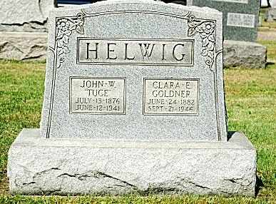 HELWIG, CLARA E. - Tuscarawas County, Ohio | CLARA E. HELWIG - Ohio Gravestone Photos