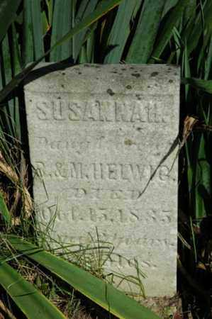 HELWIG, SUSANNAH - Tuscarawas County, Ohio | SUSANNAH HELWIG - Ohio Gravestone Photos